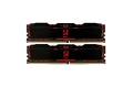 GOODRAM 8Gb (2X4Gb) DDR4 3000MHz Iridium X Black